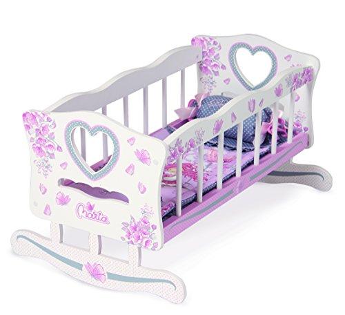 Preisvergleich Produktbild Jose Cuevas Jose cuevas5411737x 56x 32cm Holz Puppe Wiege mit Kissen und Betten