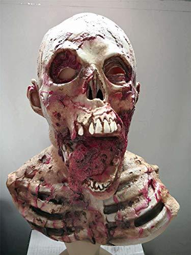lt Maske Horror Latex Kopfbedeckungen Spukhaus Requisiten ()