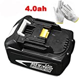 Best Cordless String Trimmer Chargers - Electropan 18V 4.0ah/4000mah Li-ion Battery for Makita Power Review