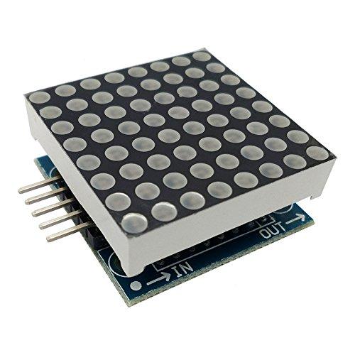 t Matrix Karte SCM Controller Treiber LED Anzeigemodul für Arduino ()