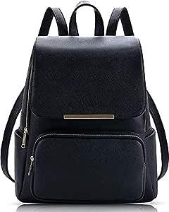 Backpack for women Stylish | women backpack latest | school bag for girls under | College Bag for women (Black)