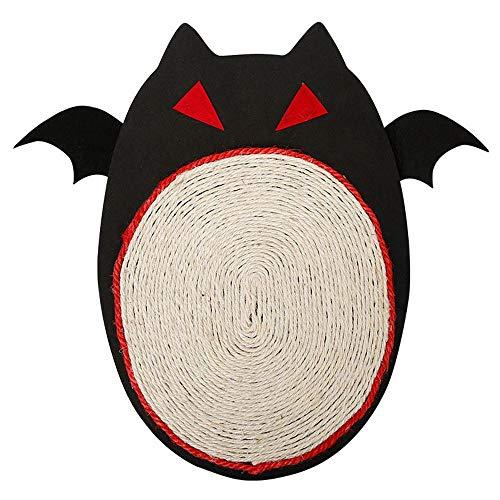 für Katzen, Schlafmatte mit Halloween-Fledermaus-Design für Kätzchen ()