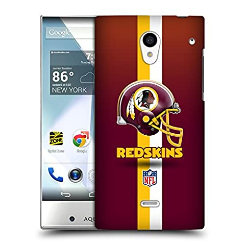 Official NFL Helmet Washington Redskins Logo Hard Back Case for Sharp Aquos Crystal 305SH