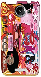 Timpax protective Armor Hard Bumper Back Case Cover. Multicolor printed on 3 Dimensional case with latest & finest graphic design art. Compatible with HTC one X+ ( Plus ) Design No : TDZ-28712