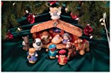 Mattel Fisher-Price J4506 - Little People Weihnachtskrippe
