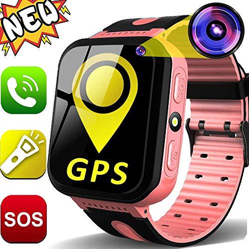 GBD Kids Smartwatch GPS Tracker para Niños 1.44 '' Pantalla Táctil Rastreador...