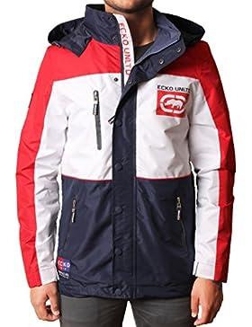 Hombres ECKO UNLTD Camber Jacket Yacht Style Coat Prendas de abrigo Tamaños superiores S a XL