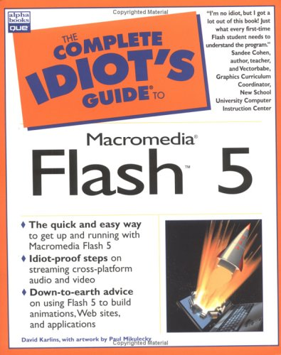 Complete Idiot's Guide to Macromedia Flash5 (The Complete Idiot's Guide) - Flash-video-alpha