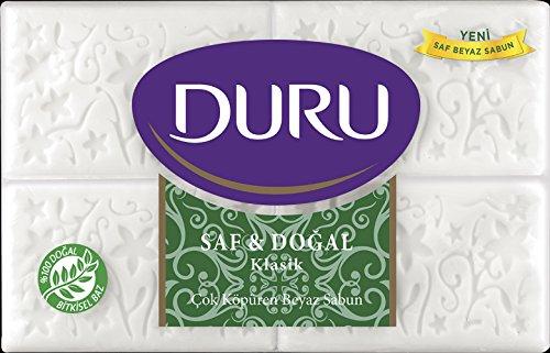 Natural Soap Bar (Duru Pure and Natural Bar Soap, Classic, 24.69 Ounce by Duru)