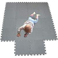 MQIAOHAM babymatten bodenmatte Kinder Matte Play puzzelmatten puzzlematten schadstofffrei spielmatte Teppich