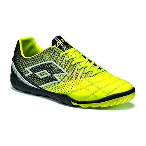 lotto-spider-700-xiii-tf-chaussures-de-football-homme-multicolore-amarillo-negro-ylw-saf-blk-40-eu