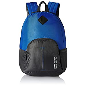 American Tourister 20 Ltrs Blue Small Casual Backpack (AMT HOOP BACKPACK-BLUE)