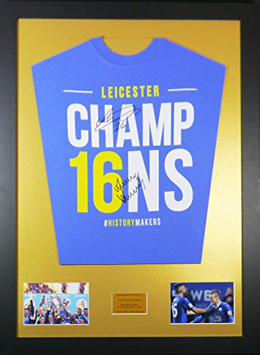 Vardy-and-Mahrez-Leicester-City-Signed-Shirt-Framed-Display-with-COA