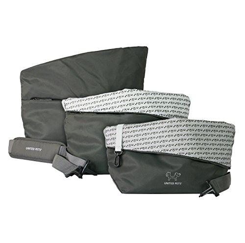 United Pets Sling Bag Dog Carrier, Grey 5