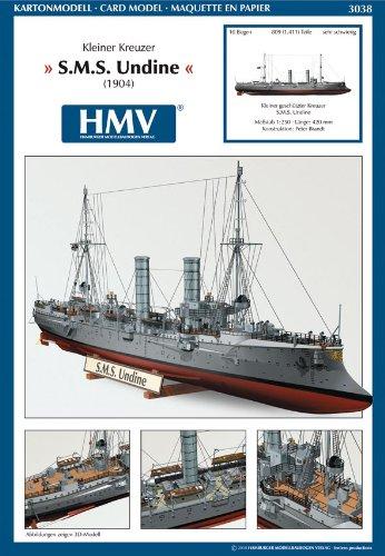 Preisvergleich Produktbild HMV 3038 Kartonmodell Kleiner Kreuzer SMS Undine