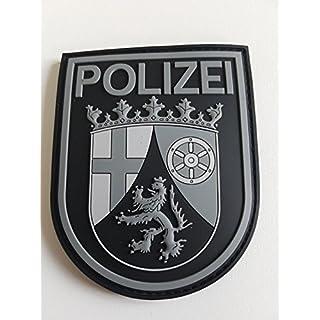 ATG Ärmelabzeichen Police Rhineland-Palatinate 3D Rubber Patch (Blackops)