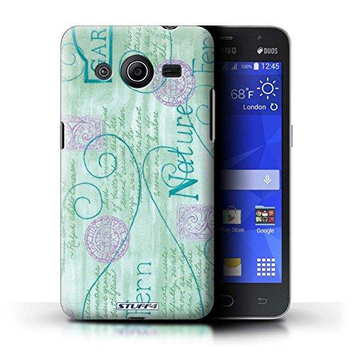 iCHOOSE Print Motif Coque de protection Case / Plastique manchon de telephone Coque pour iPhone 6+/Plus 5.5 / Collection Motif Nature / Pourpre Turquoise / Violet
