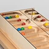 Il marmo di corso di rotolamento del contenitore la S 65 il cm x 35 il cm il X.25 cm di specchio di corso della palla esegue le montagne di legno del minerale metallifero del giocattolo