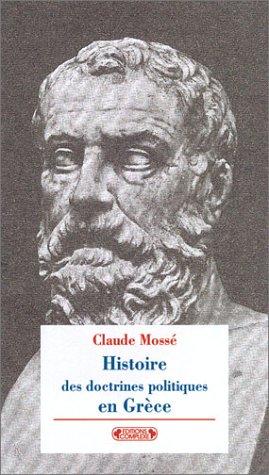 Les Grecs inventent la politique par Claude Mossé