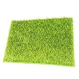 LAAT Künstliche Mini Rasen Moosplatten Moosplatten Moos für Miniatur Garten Decor Size 30 * 30cm (Grün)