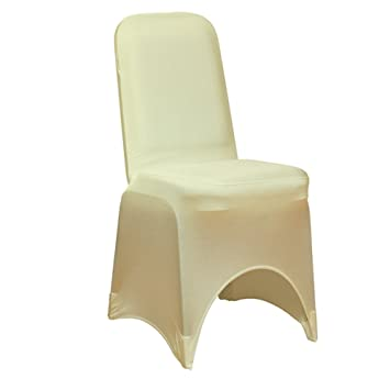 Spandex Chair Cover Premium (Ivory)