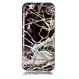 Coque Apple iPhone 5C, SsHhUU Couleur Laser Marbre Conception TPU Pare-Chocs...