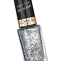 Loreal Paris Top Coat Nail Paint Color Riche Le Vernis 922 Disco Ball 5ml