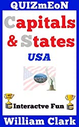 Capitals & States USA (Quizmeon Book 18) (English Edition)
