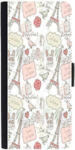 Snoogg Love In Parisdesigner Protective Flip Case Cover For Samsung Galaxy No...