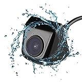 KT-SUPPLY Wasserdicht Universal Auto Rückfahrkamera Einparkhilfe 170°-Bildwinkel Abstandswarner mit 7070 CCD Night Vision, Schwarz