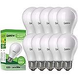 LUMIRA LED E27 Lampe, 10 W ersetzt 75 W, Warmweiß (2900K), 900 Lumen, A60, Matt, 60x107 mm, Nicht dimmbar, 10er Pack
