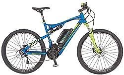 REX E-Bike Alu-Full Suspension MTB 650B 27.5 Zoll GRAVELER 6.9, blau matt, 50, 51666-0111