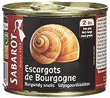 Sabarot Finest Burgundy Snails 200 g
