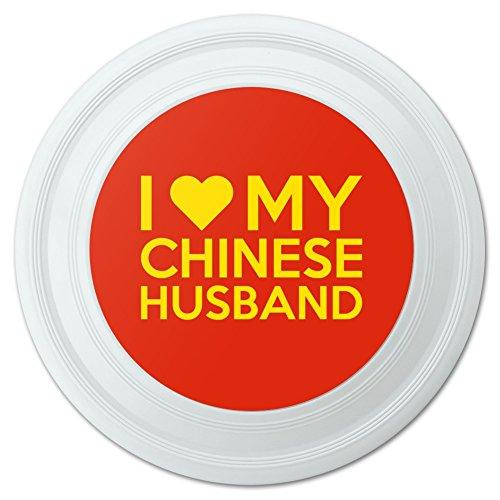 I love my Chinesische Mann Neuheit 22,9cm Flying Disc (Hundespielzeug, China)