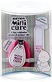 Beter - Mini Cure - Kit de cortauñas y lima (con 2 piezas), colores surtidos