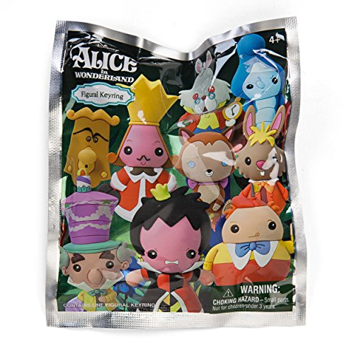 Preisvergleich Produktbild Disney Alice in Wonderland 3D Foam Schlüsselanhänger Mystery Pack (1 Random)