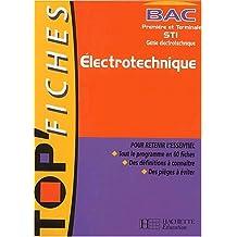 Top'Fiches, Bac première et terminale STI : Electrotechnique