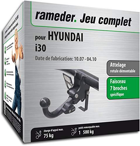 Faisceau specifique attelage HYUNDAI I30 2007-2012 7 Broches montage facile pr