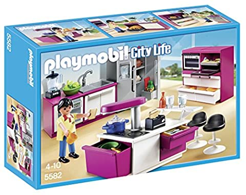 Grande Maison Playmobil - Playmobil - 5582 - Jeu De Construction