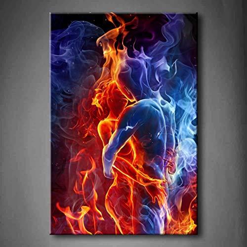 EBONP Décoration Peinture Affiche Tableau décoratif sans...