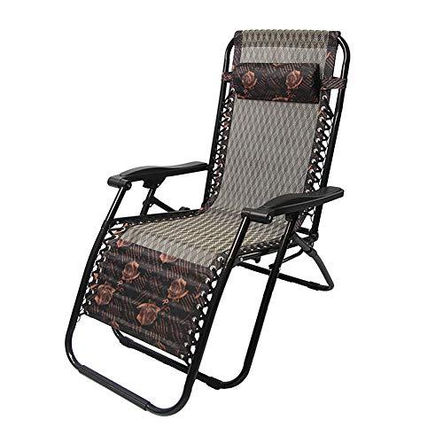 HOUADDY Campingstuhl Liegestuhl Sonnenliege Campingliege Klappliege Liege Relaxliege mit Armlehnen Wetterfeste Gartenliege (200 kg maximale Belastung, atmungsaktiv, pflegeleicht, faltbar),A