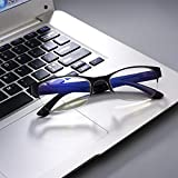 EgBert Gafas De Lectura De Presbicia Ligeras, De Color Azul, Anti-Azul, Luz Azul, Rayos Azules, 8018-1.0