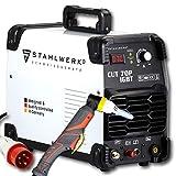 STAHLWERK CUT 70P IGBT Plasmaschneider mit 70 Ampere, Pilot-Zündung, bis 25 mm Schneidleistung, für Flugrost geeignet, weiß, 5 Jahre Garantie