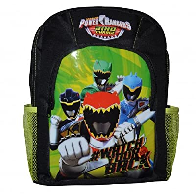 Power Rangers Sports Children's Backpack, 36 cm, 11 Liters, Black