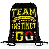 style3 Team Gelb Instinct Intuition Instinkt Rucksack Tasche Turnbeutel Sport Jute Beutel, Rucksack FARBE:Motiv 2