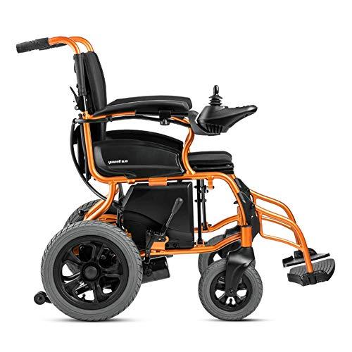 Wheel-hy Elektrischer Rollstuhl Faltbar – Elektrorollstuhl – Faltrollstuhl