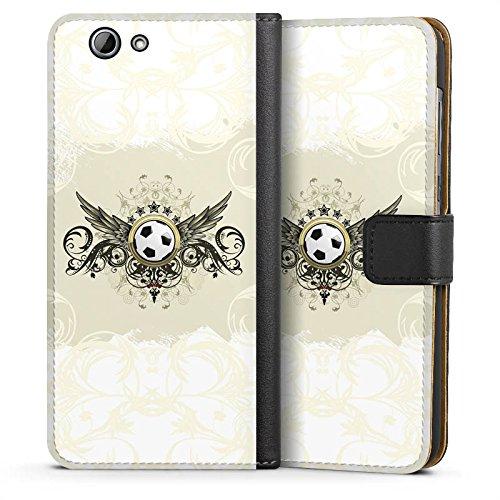 DeinDesign HTC One A9 s Tasche Hülle Flip Case Sport Football Fussball