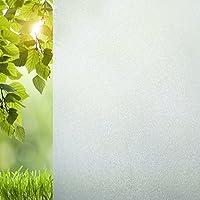 Vinilo Para Ventanas No adhesivo – Película Para Ventanas Esmerilado Protección Anti-UV 45x210cm - Ezigoo