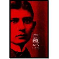 Franz Kafka Kunstdruck Hochglanz Poster - Maße: 91 x 61 cm