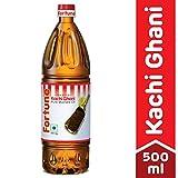 #8: Fortune Kachi Ghani Oil, Mustard, 500ml PET Bottle